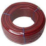 30M x 13MM RED REINFORCED PVC WATER HOSE